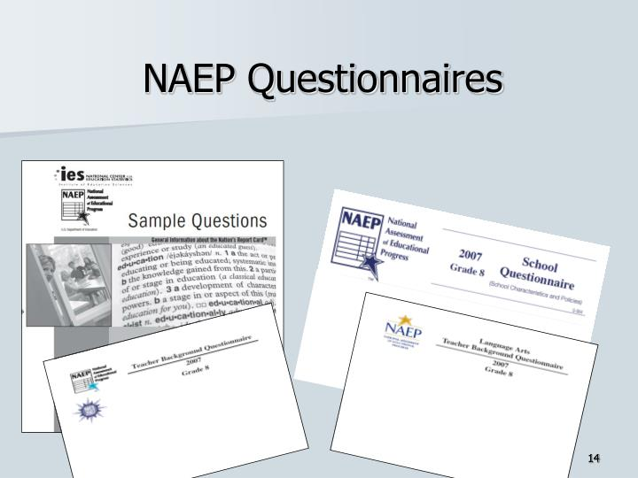 NAEP Questionnaires
