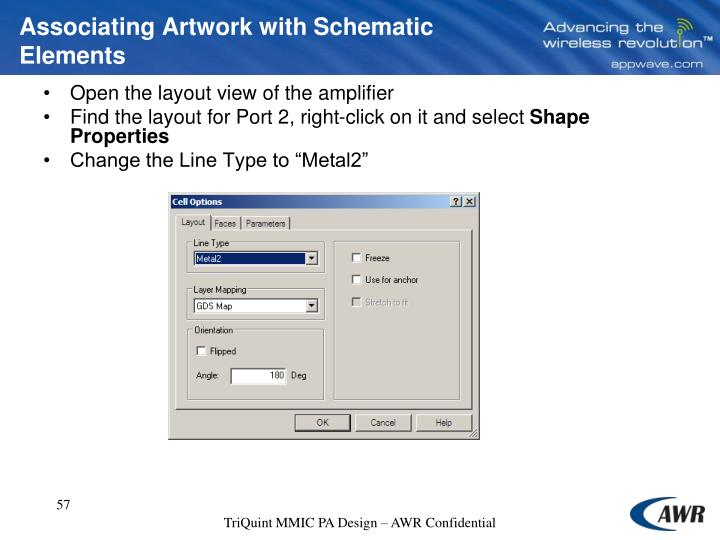 Associating Artwork with Schematic Elements