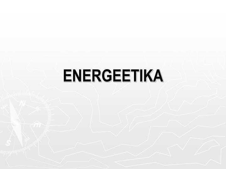 energeetika