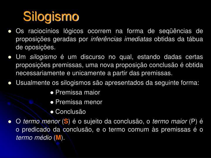 Silogismo