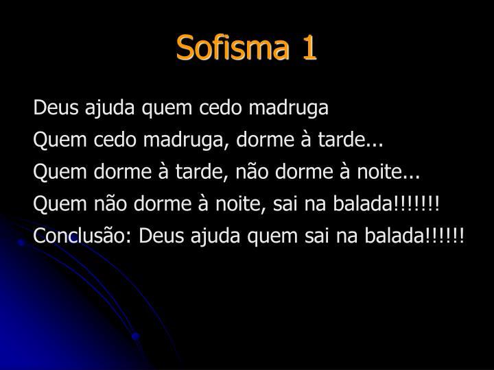 Sofisma 1