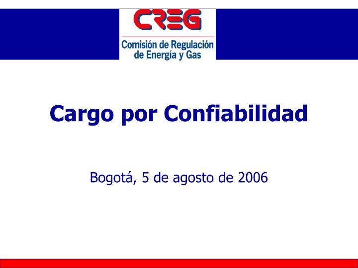 Cargo por Confiabilidad