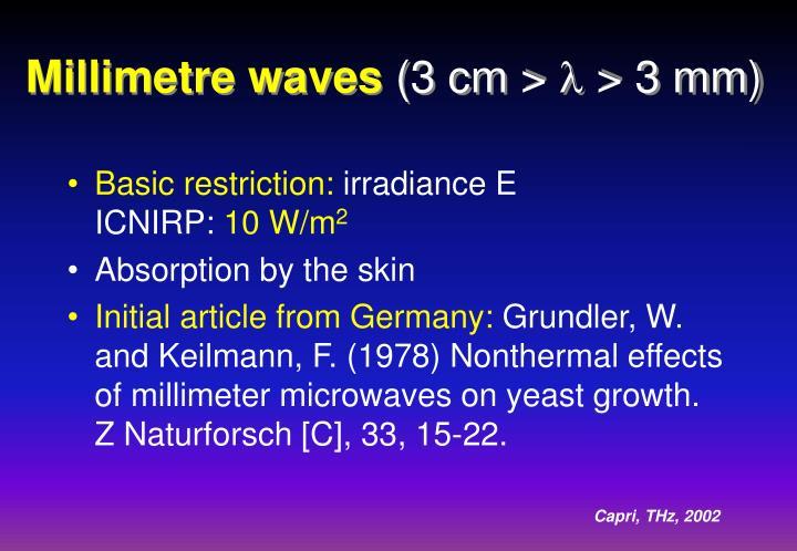 Millimetre waves