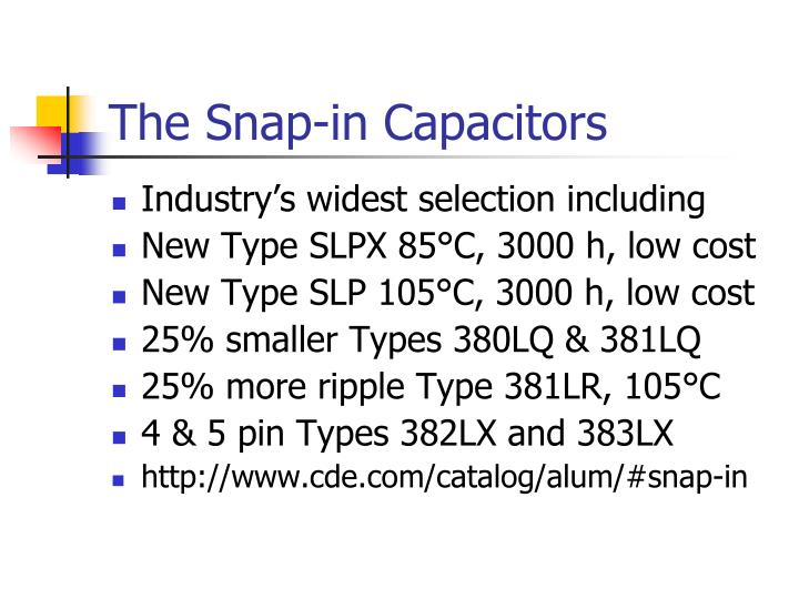 Industry's widest selection including