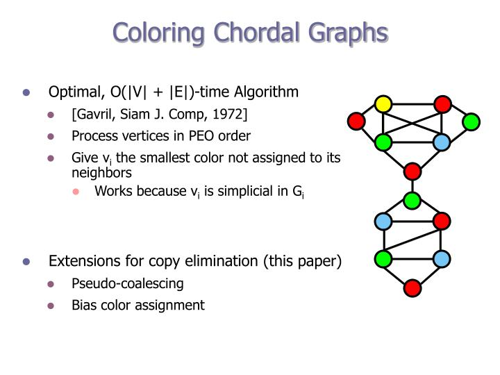 Coloring Chordal Graphs
