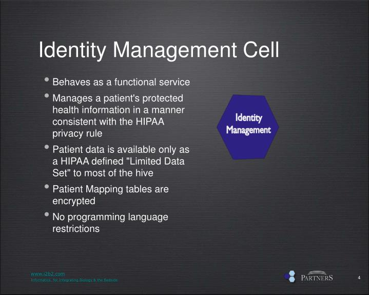 Identity Management Cell