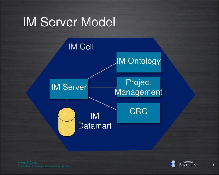 IM Server Model