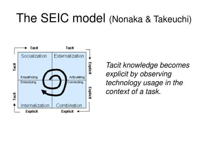 The SEIC model