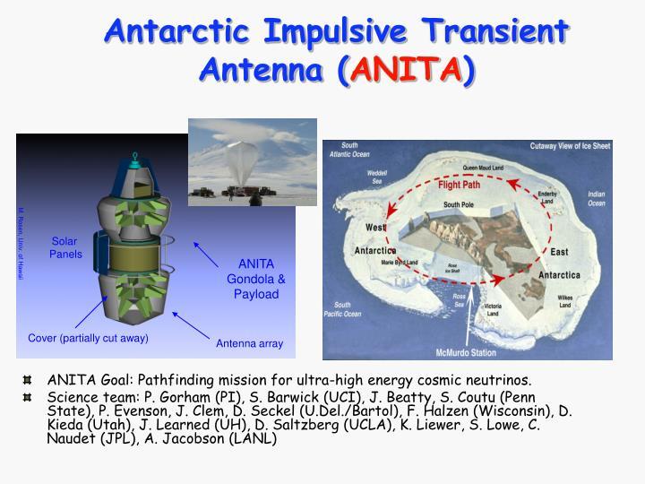 Antarctic Impulsive Transient Antenna (