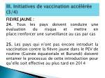 iii initiatives de vaccination acc l r e 3 4