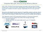 integrated micro grid resource energy efficiency network