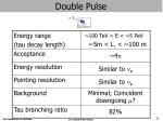 double pulse