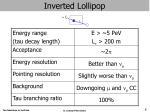 inverted lollipop