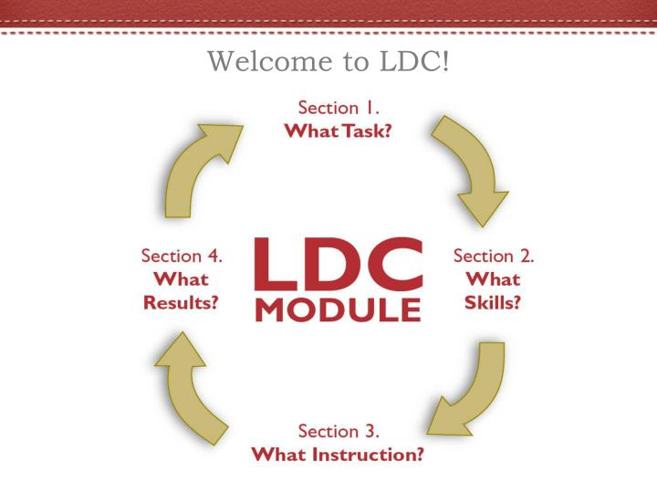 Welcome to LDC!
