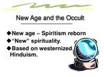 new age and the occult