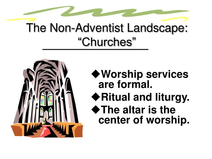 """The Non-Adventist Landscape: """"Churches"""""""
