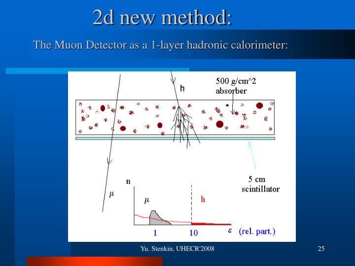 2d new method: