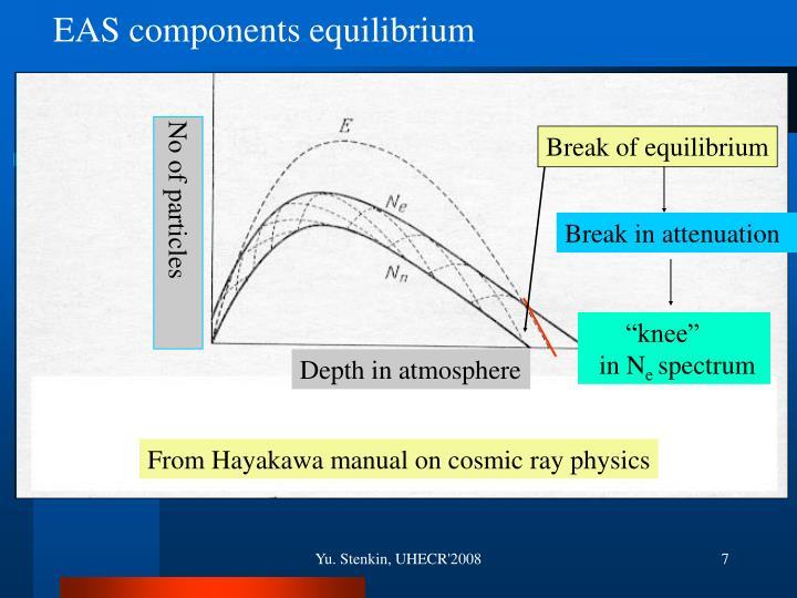 EAS components equilibrium
