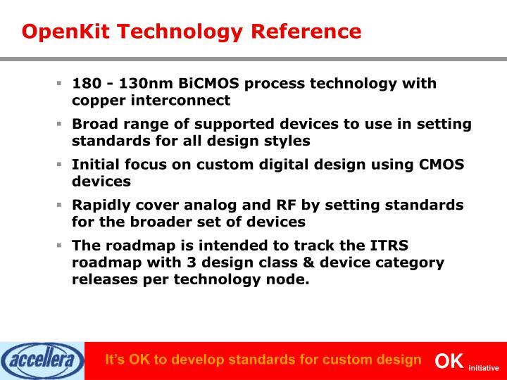 OpenKit Technology Reference