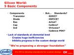 silicon world 5 basic components