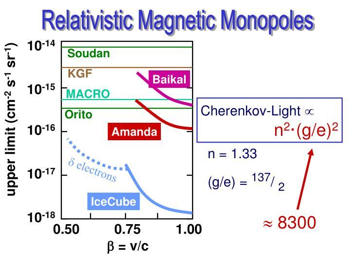 Relativistic Magnetic Monopoles