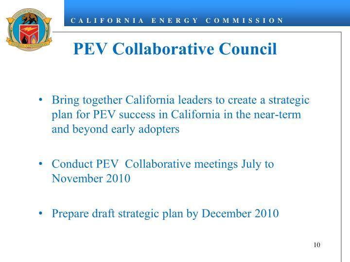 PEV Collaborative Council