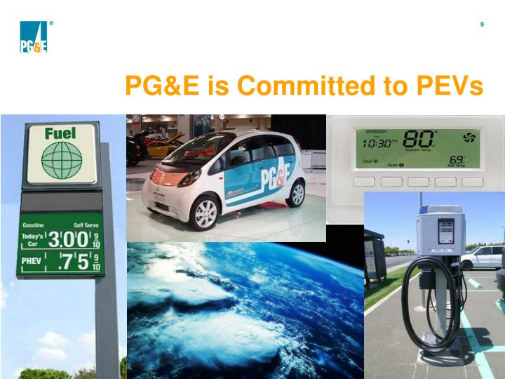 PG&E is Committed to PEVs