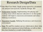 research design data