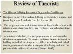 review of theorists