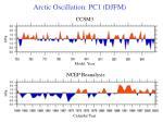 arctic oscillation pc1 djfm