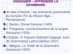 enseigner apprendre la grammaire1