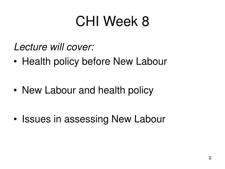 CHI Week 8