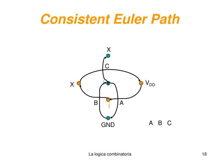 Consistent Euler Path