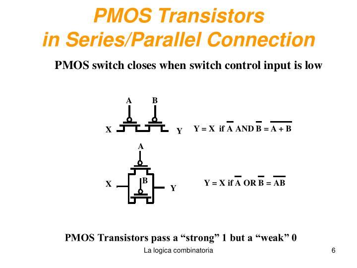 PMOS Transistors