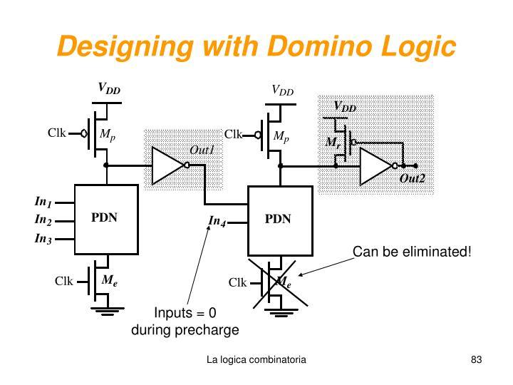 Designing with Domino Logic