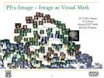 pex image image as visual mark