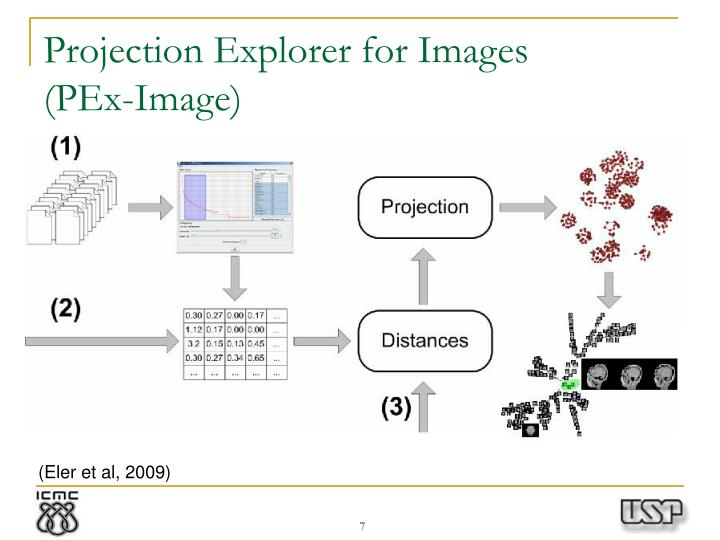 Projection Explorer for Images
