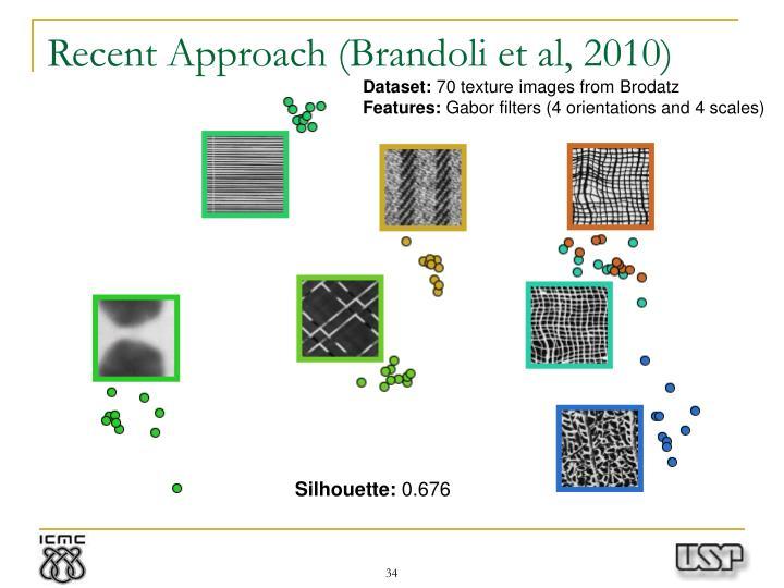 Recent Approach (Brandoli et al, 2010)