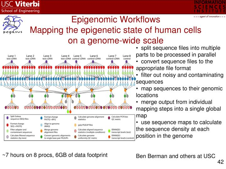 Epigenomic Workflows