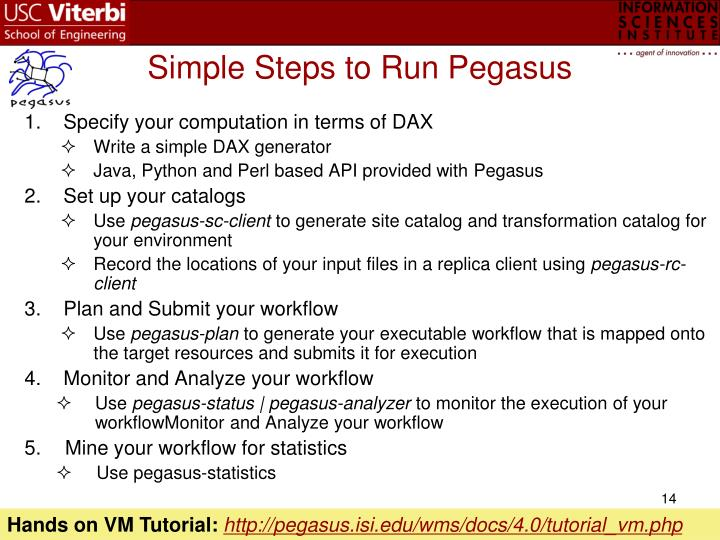 Simple Steps to Run Pegasus