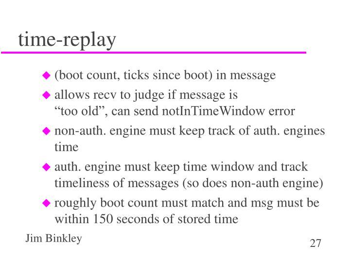 time-replay