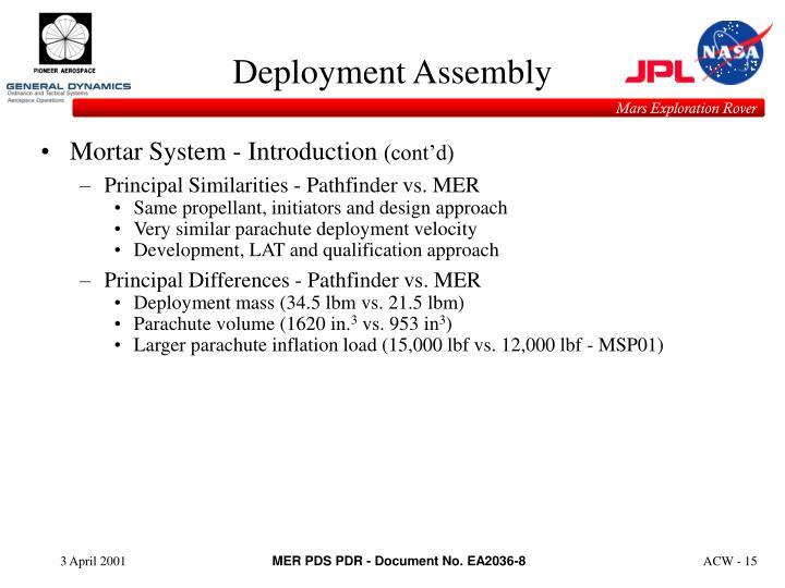 Deployment Assembly
