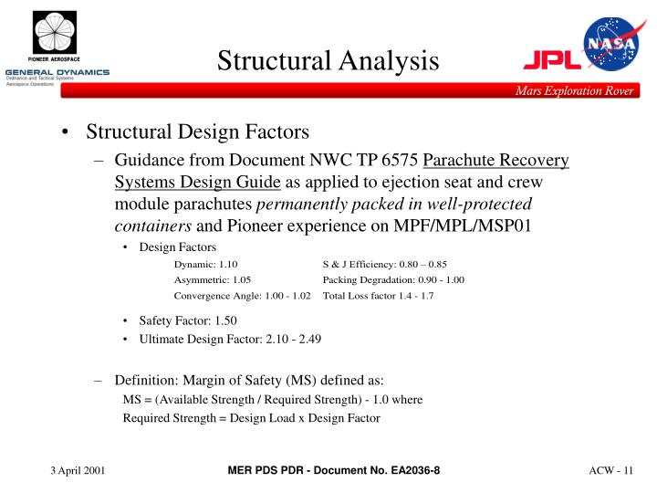 Structural Design Factors
