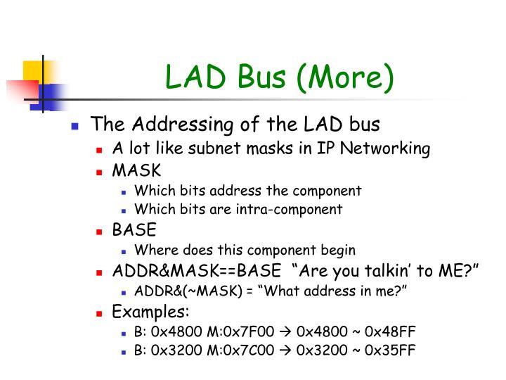 LAD Bus (More)