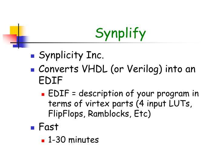 Synplify