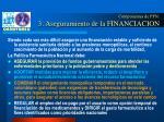 componentes de pfn 3 aseguramiento de la financiacion