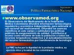 seguimiento a pol tica farmac utica nacional2