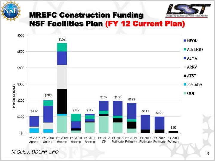 MREFC Construction Funding