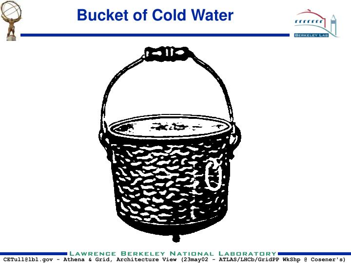 Bucket of Cold Water