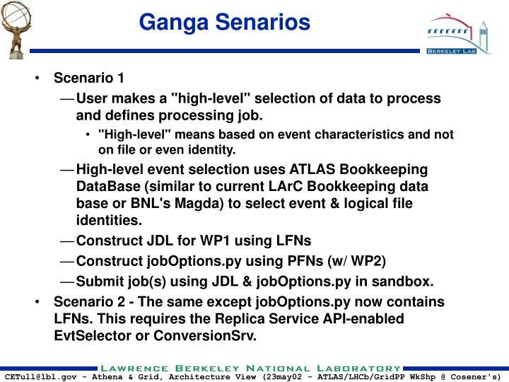 Ganga Senarios